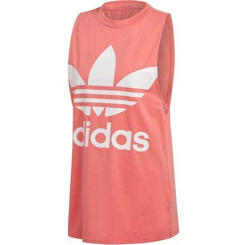 Koszulka na ramiączkach adidas Trefoil DH3170, bawełna
