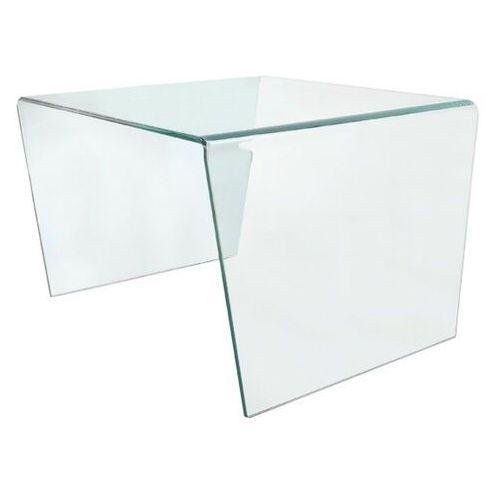 Stolik szklany pendenza - szkło transparentne marki Sofa.pl