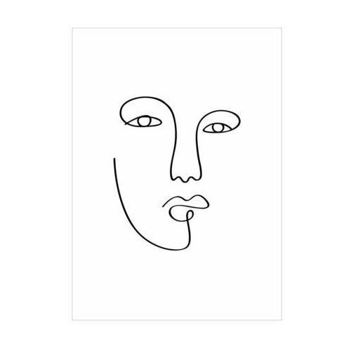 Knor Obraz twarz rycina 30 x 40 cm