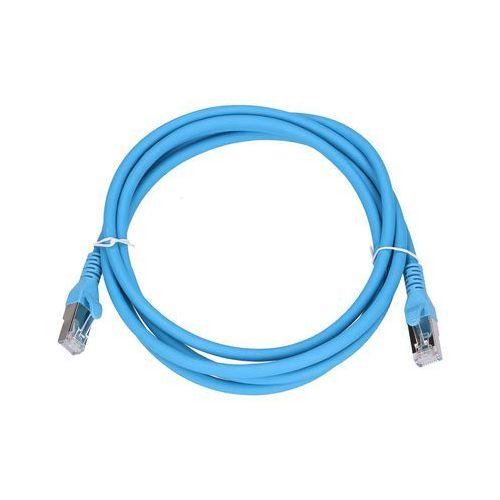 Extralink patchcord lan kat.6a s/ftp 10gbit/s 2m miedź kabel sieciowy skrętka (5902560366563)