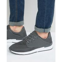 Brave soul breckham trainers in grey - grey