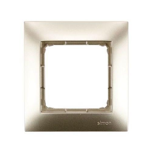 Kontakt-simon Ramka pojedyncza złoty metalik dr1/44 kontakt simon54 rabaty (5902787826932)