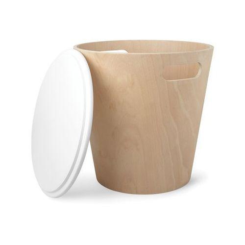 UMBRA - Kosz drewniany, naturalny, WOODROW - D2 Design - Zapytaj o rabat!