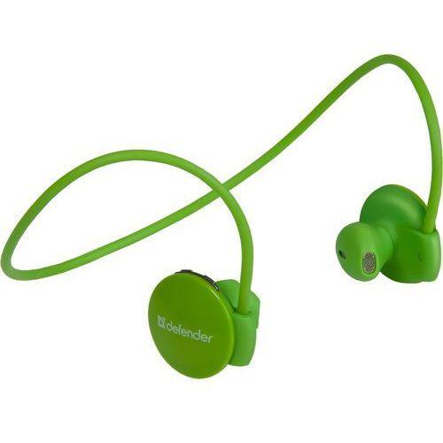 Defender słuchawki FreeMotion B611 Bluetooth, zielone (63613) - BEZPŁATNY ODBIÓR: WROCŁAW!