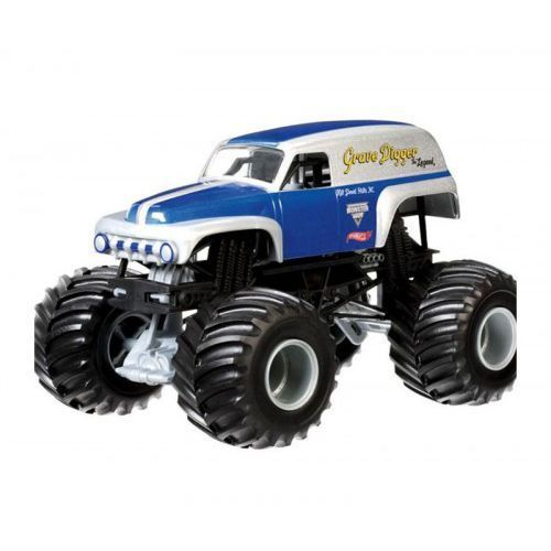 Hot wheels monster jam - auto off-road legenda grave od producenta Mattel