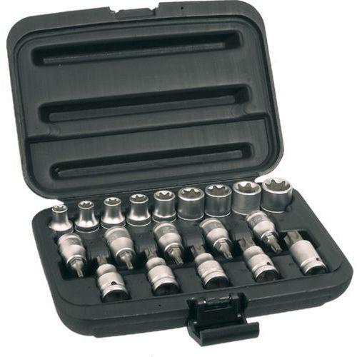 Zestaw kluczy nasadowych TOPEX 39D379 1/2 cala (19 elementów) + DARMOWY TRANSPORT! (5902062393791)