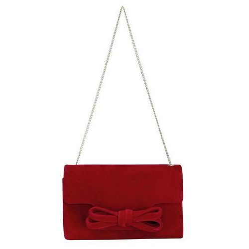 Phase eight elena suede bow clutch bag (5038775912971)