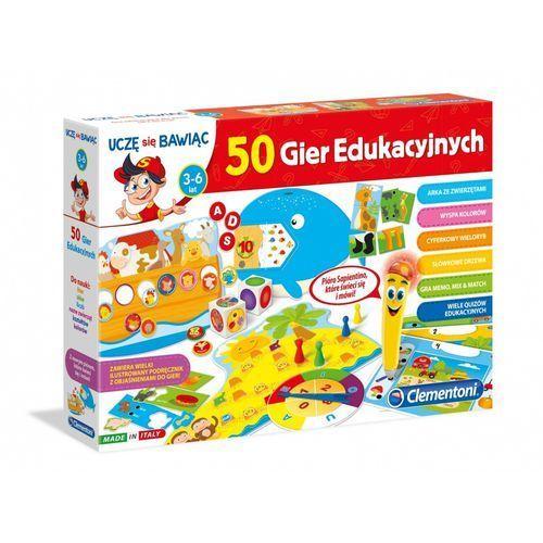 Clementoni Mówiące pióro 50 gier edukacyjnych