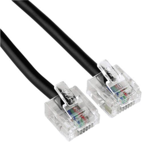ISDN Kabel [1x złącze męskie RJ45 8p4c - 1x złącze męskie RJ45 8p4c] 3 m czarny Hama (4007249445636)