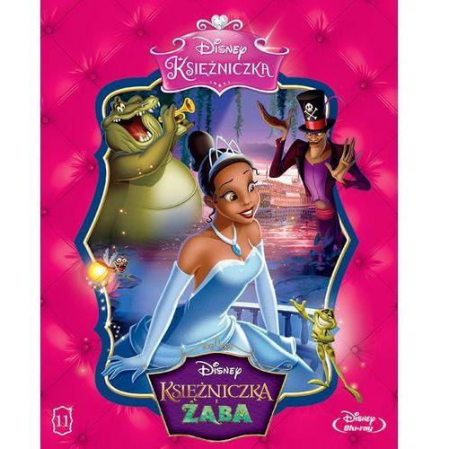 Galapagos Disney księżniczka. księżniczka i żaba [blu-ray] (7321917501620)