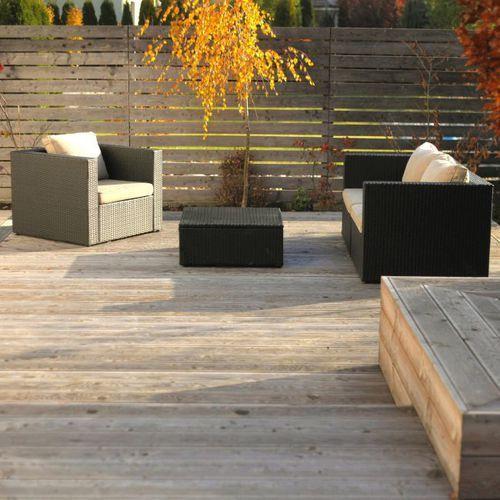 Blooma Deska tarasowa drewniana  3000 x 140 x 24 mm modrzew syberyjski (3663602948186)