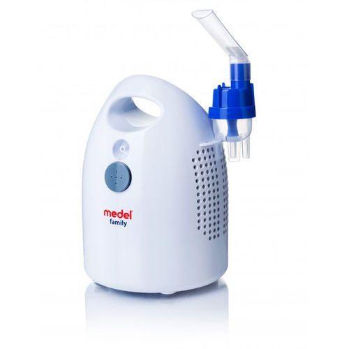 Inhalator nowy family - cichy i szybki - - 1 szt. marki Medel