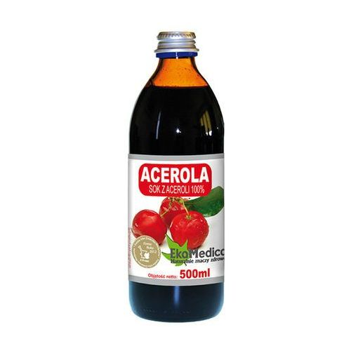 Sok z aceroli 100% bez cukru 500ml z kategorii Napoje, wody, soki