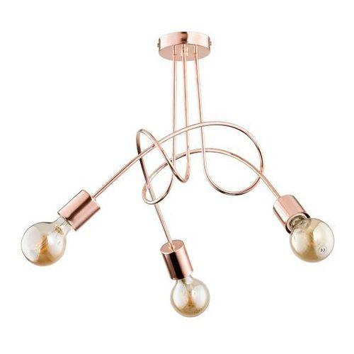 Lampa wisząca tango cooper 3 x 60 w e27 marki Alfa
