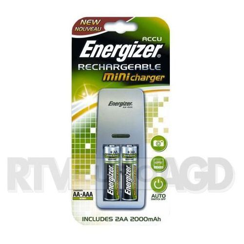 Ładowarka Energizer MINI Charger 2xAA 2000mAh Darmowy odbiór w 20 miastach! (7638900274820)