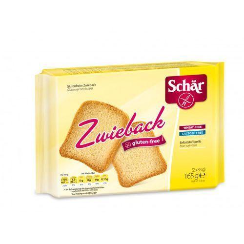 Sucharki Zwieback Bezglutenowe 150 Schar (zdrowa żywność)