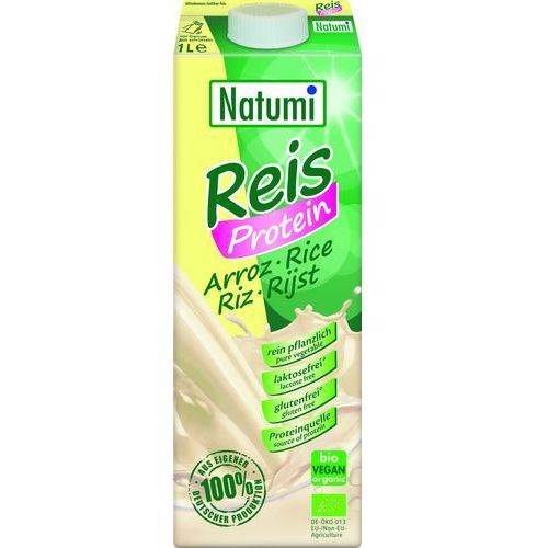 Natumi 1l napój ryżowy z proteinami bio