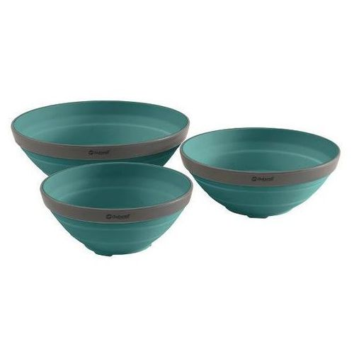 Zestaw misek OUTWELL Bowls Niebieski (3 sztuki)