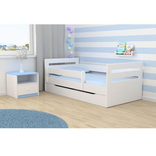 Łóżko dziecięce Kocot-Meble TOMI - różne kolory, szuflada - Negocjuj Cenę. Promocja Spokojny Sen