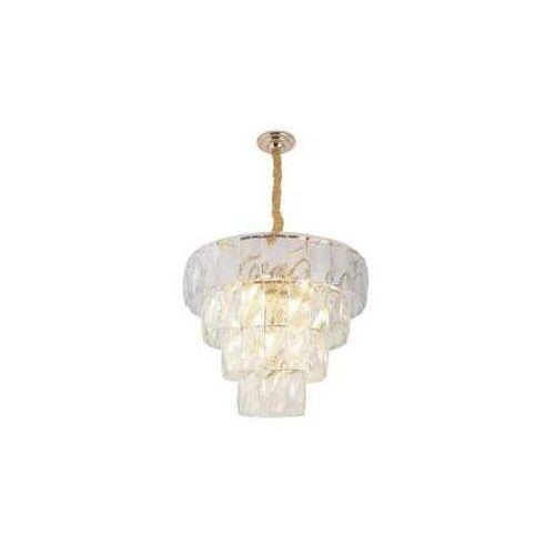 vivaldi p0269 lampa wisząca zwis 30x40w e14 chrom / przezroczysty marki Maxlight