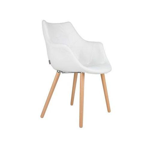 Zuiver:: Krzesło TWELVE białe LL - wzór 4