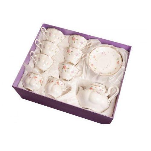 Serwis kawowy do herbaty 15el porcelana na prezent marki Fusaichi pegasus