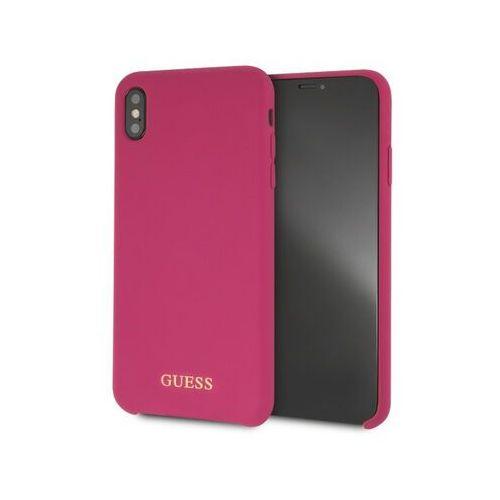 Guess GUHCI65LSGLPI iPhone XS Max (różowy) (3700740437339)