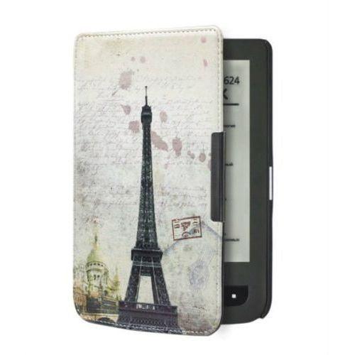 Absorb.pl Etui design case pocketbook 624/614/626 touch lux 2 / 3 wieża eiffle