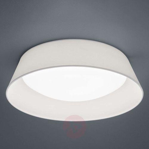 Natynkowa LAMPA sufitowa PONTS R62871801 Trio okrągła OPRAWA abażurowa LED 18W plafon biały, kolor Biały
