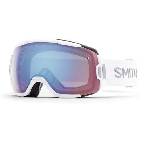 Smith Gogle snowboardowe - vice white blue sensor mirror (99zf) rozmiar: os