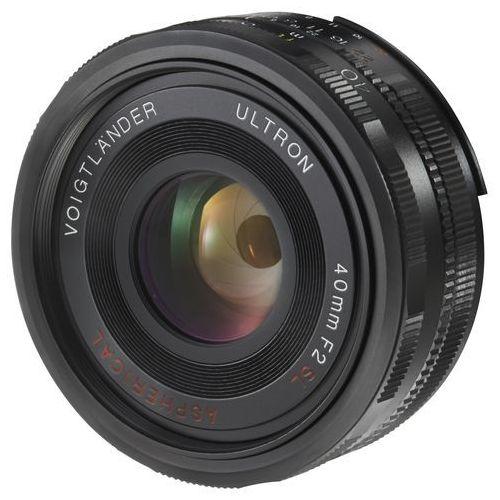 Obiektyw VOIGTLANDER 40mm F/2.0 Ultron SL-II (Canon EOS) (4002451195942)