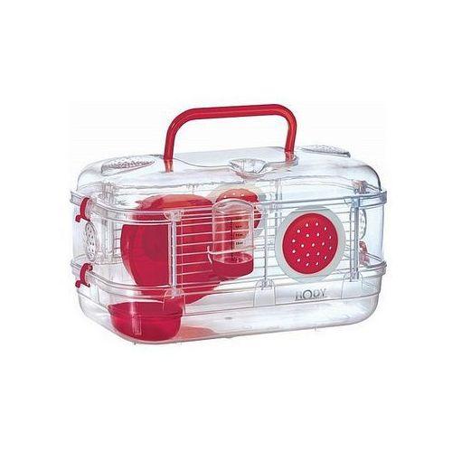 Zolux Klatka Mini RodyLounge dla gryzoni czerwona [205836] (3336022058369)