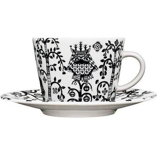 Filiżanka do cappuccino bez spodka Taika czarna (7320065006971)