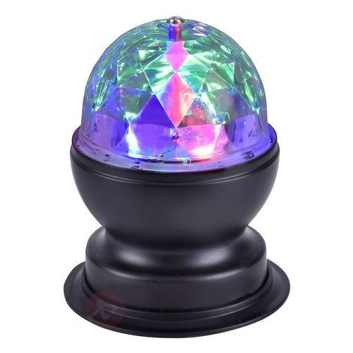 Leuchten Direkt DISCO Lampa stołowa LED Czarny, 1-punktowy - Wesoły, śmieszny - Obszar wewnętrzny - DISCO - Czas dostawy: od 2-4 dni roboczych (4043689933166)