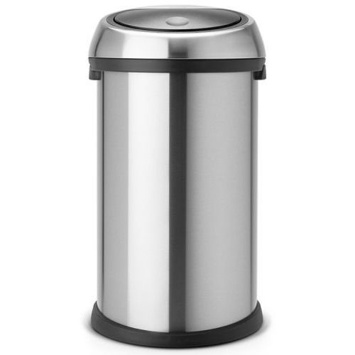 Kosz na śmieci 50 litrów TOUCH BIN Brabantia stal szlachetna matowa, VB288661