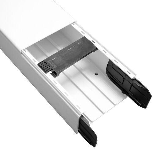 Kanał elektroinstalacyjny PVC 110x60 (2m) biały Hager