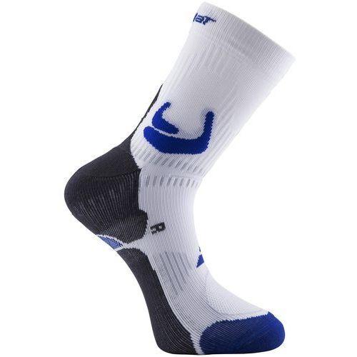 socks pro 360 men 1 para - biały / niebieski marki Babolat