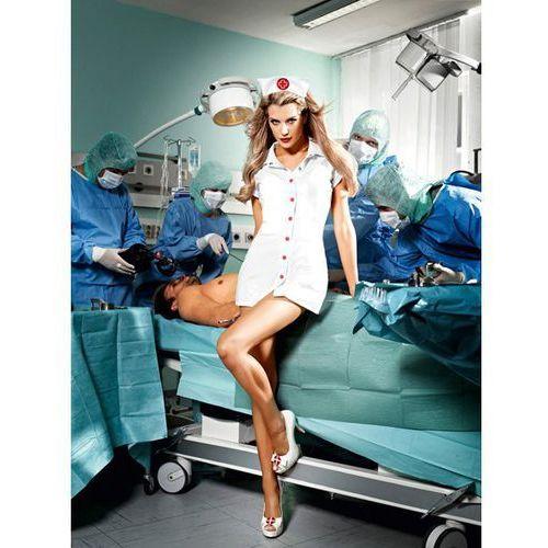 Przebranie pielęgniarki - baci o.r. nurse set one size marki Baci lingerie