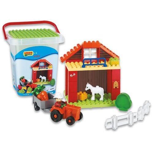 Unico Zestaw klocków Country Farm w pudełku - BEZPŁATNY ODBIÓR: WROCŁAW!