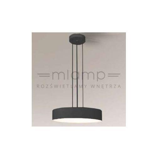 Lampa wisząca bungo 5516/g5/cz minimalistyczna oprawa zwis okrągły czarny marki Shilo