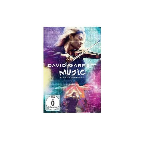 Music, live in concert, 1 dvd marki Universal music