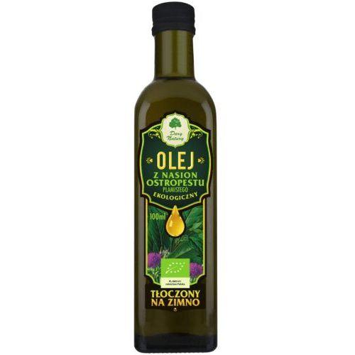Dary natury - inne bio Olej z nasion ostropestu plamistego bio 100 ml - dary natury