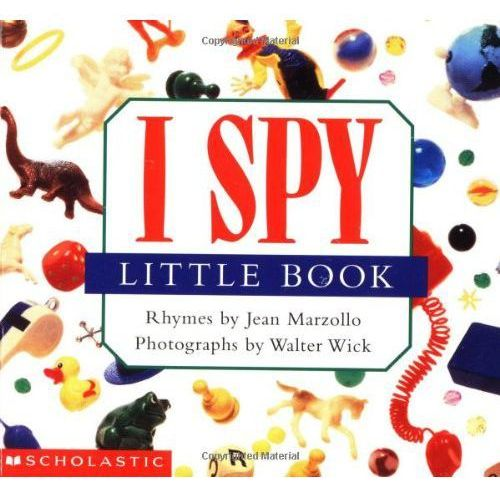 I spy little book, Scholastic