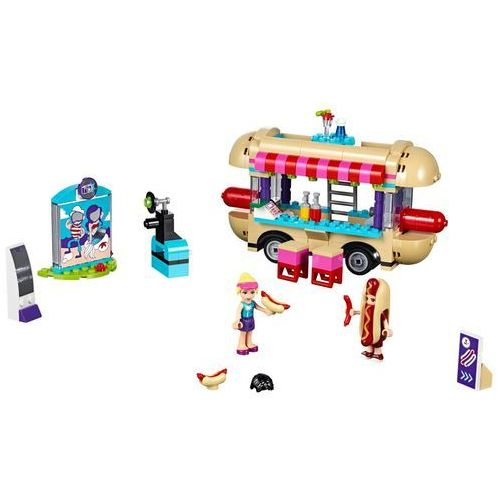 Lego Friends Furgonetka z hot-dogami w parku rozrywki 41129 z kategorii: klocki dla dzieci