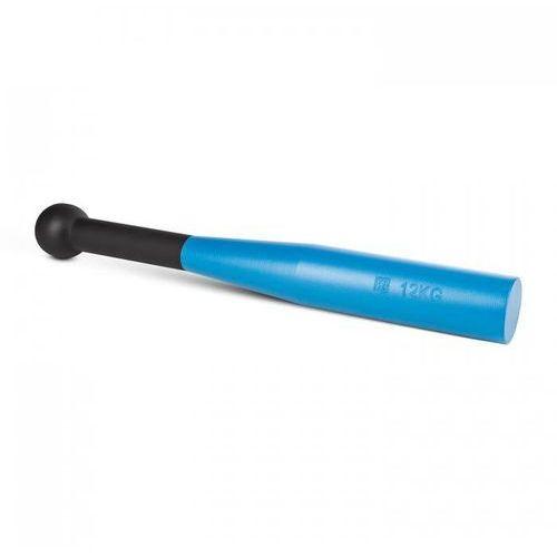 Capital sports Bludgeon clubbell maczuga zamachowa czarno/niebieska stalowa 12 kg