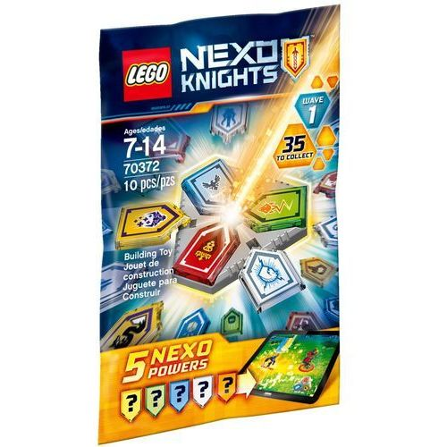 LEGO NEXO KNIGHTS, Combo Moce NEXO — fala 1, 70372