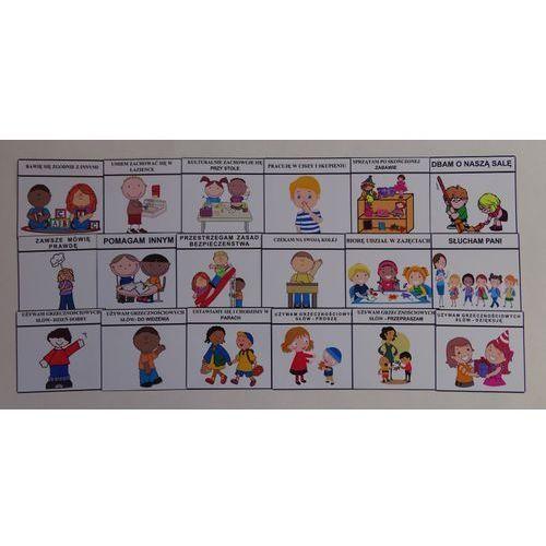 Kodeks przedszkolaka - obrazki marki Bystra sowa