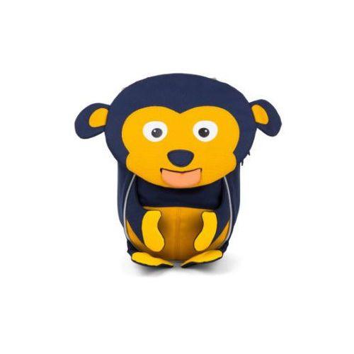 mali przyjaciele - plecak: małpka albert, ciemnoniebieski marki Affenzahn