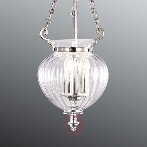 Elstead Żyrandol finsbury park fp/p/s pol nckl - lighting - rabat w koszyku (5024005477204)