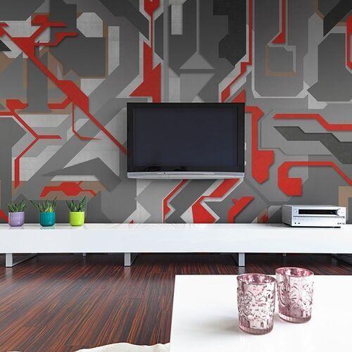 Fototapeta - abstrakcyjne geometryczne ścieżki marki Artgeist